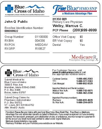 Of Cross Blue Identification 102 Idaho Member Hcbs -